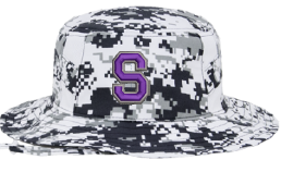 "Snow Digi Camo Boonie Hat with Spartan ""S"""